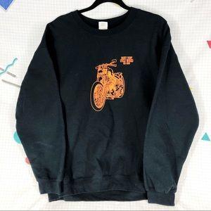 Vintage Harley Motorcycle Repair Sweatshirt